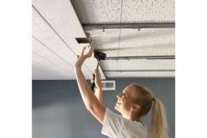 ¿Cómo deshacerse de paredes y techos irregulares?
