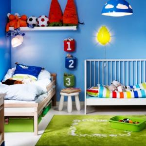 6 colores hechos para los cuartos de niños
