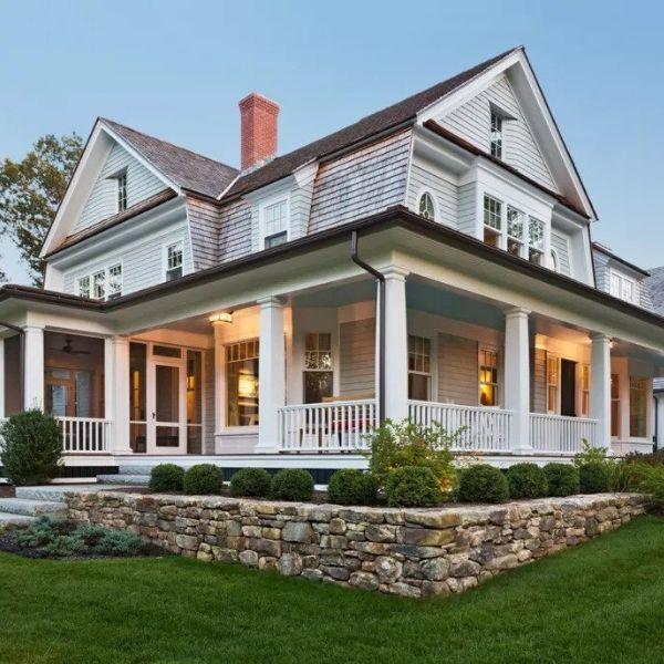 Calibra el color correctamente y tendrás un exterior de la casa que da la bienvenida a los visitantes