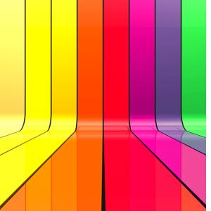 Usar colores en casa para mejorar el animo