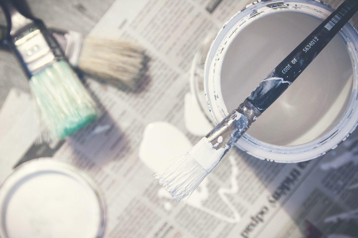 Pintura baño pequeño