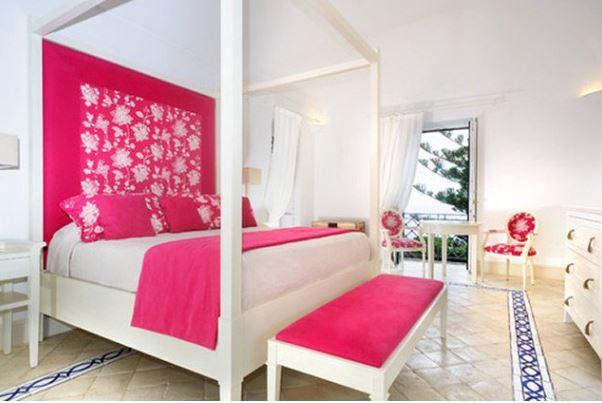 Creando una habitación romántica con color