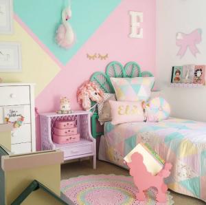 habitación infantil color pastel